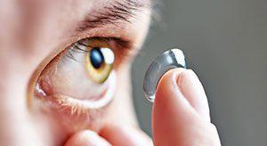 Kontaktlinse Auge